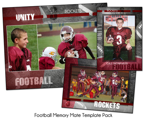 Football Pack B by KatieAnn Designs