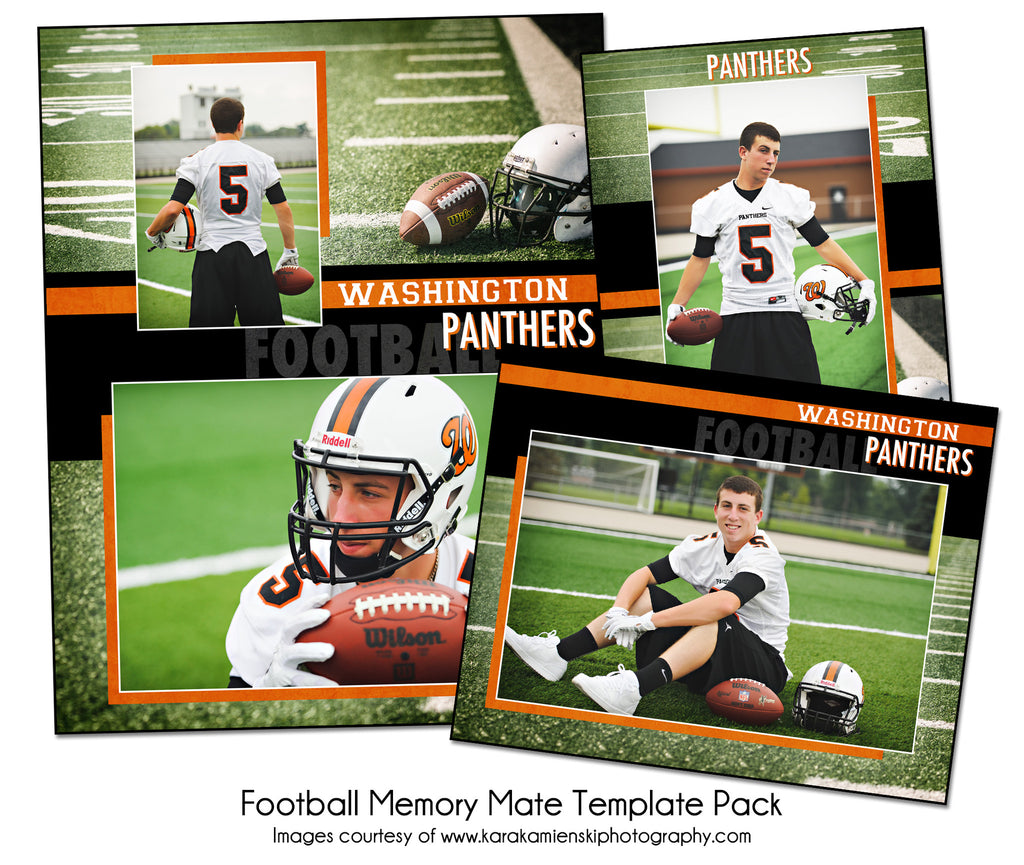 Football Pack D by KatieAnn Designs