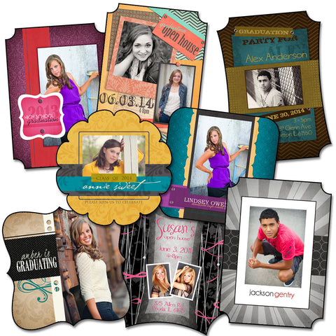 Senior Grad Cards - Pack 2 by KatieAnn Designs