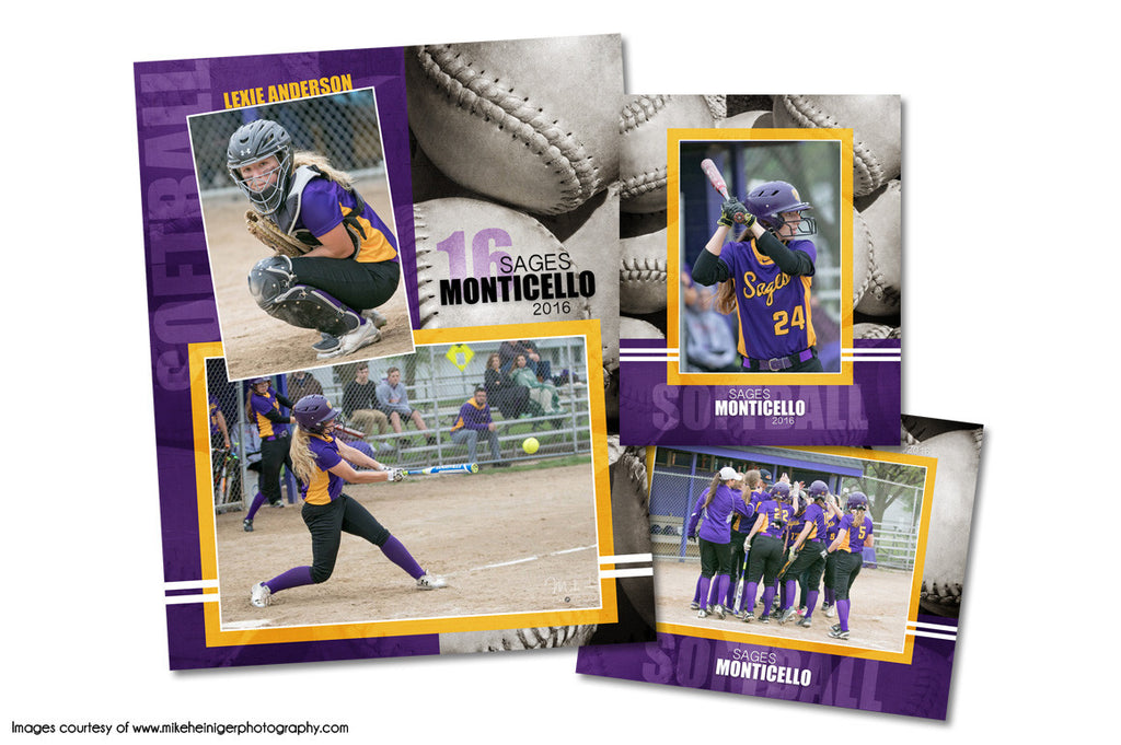 Softball Pack D by KatieAnn Designs
