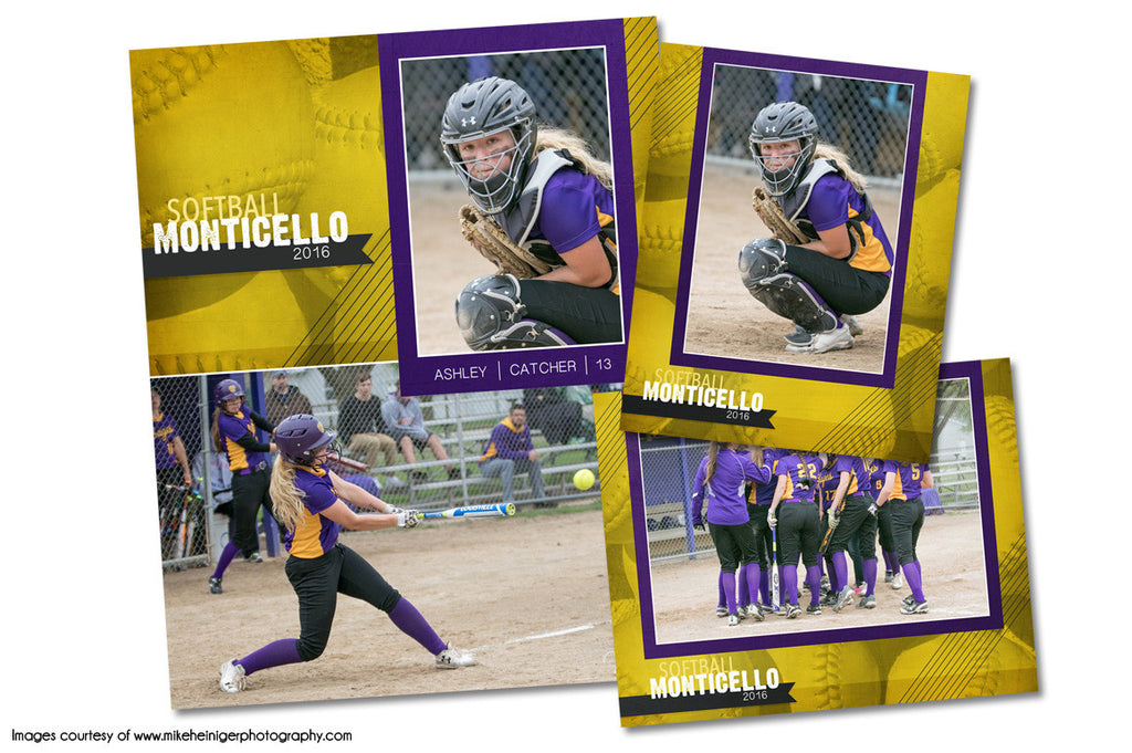 Softball Pack E by KatieAnn Designs