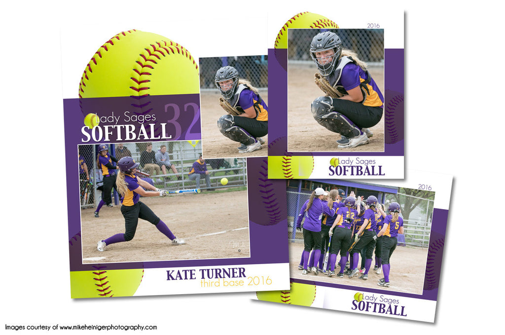 Softball Pack I by KatieAnn Designs