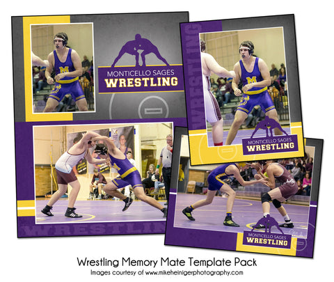 Wrestling Pack A by KatieAnn Designs