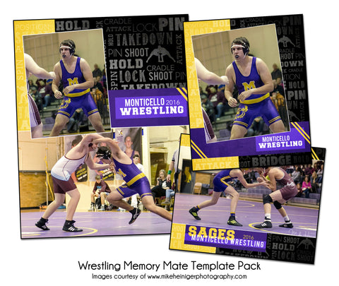 Wrestling Pack B by KatieAnn Designs