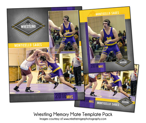 Wrestling Pack C by KatieAnn Designs