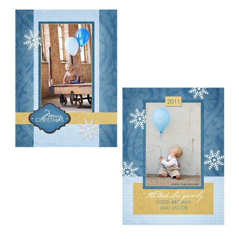 Holiday Cards {Winter} - Card 1