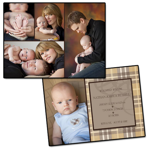 Baby Announcements {Sweet} - 4x5.5 Card 3