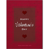 Valentine's Day Cards {Red} - Card 3