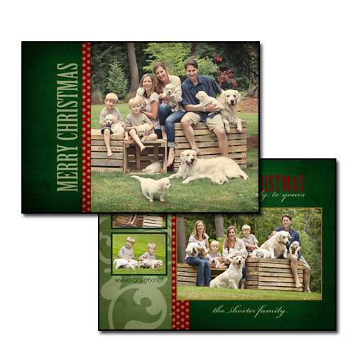 Holiday Card {Wrapping Paper}