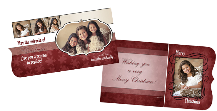 Holiday Boutique Card {Cheer} - Ornate E12 - 5x5