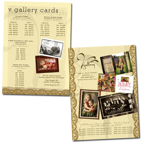 Marketing Card - Card Pricelist