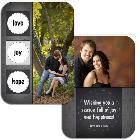 Holiday Boutique Cards {Joy} Basic A2 5x7