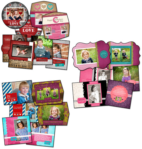 Valentine's Day Pack 3 by KatieAnn Designs
