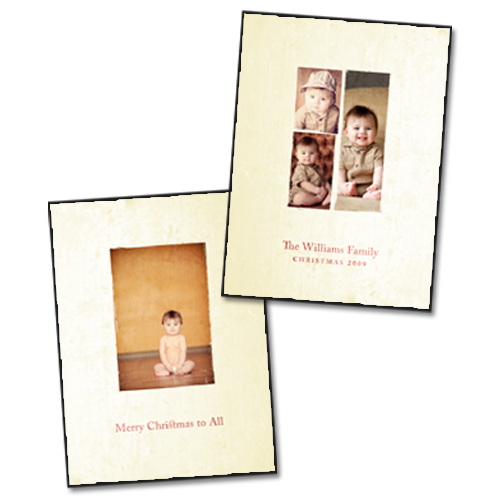 Holiday Cards {Modern} - 4x5.5 Card 1