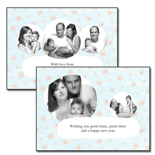 Holiday Cards {Celebrate} - 4x5.5 Card 3