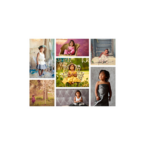 Gallery Wrap Collage {Simple}