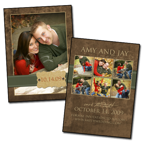 Sampler - Save the Date 5x7