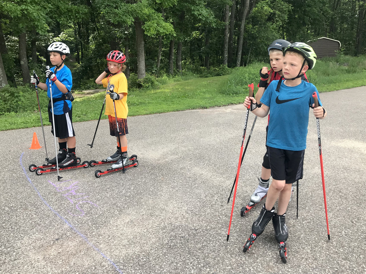 SWENOR Junior Rollerski Package
