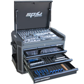 SP52255D TECH SERIES TOOL KIT - 251PC - METRIC/SAE - DIAMOND BLACK