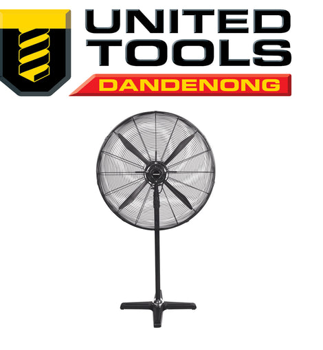 "KINCROME INDUSTRIAL PEDESTAL FAN 30"" (750MM) KP1005"
