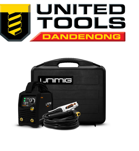 UNIMIG RAZOR™ ARC 180 STICK WELDER 240v 15amp KUMJRRW180CA with FREE Shipping