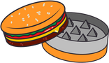 The<br> Hamburger<br> Grinder