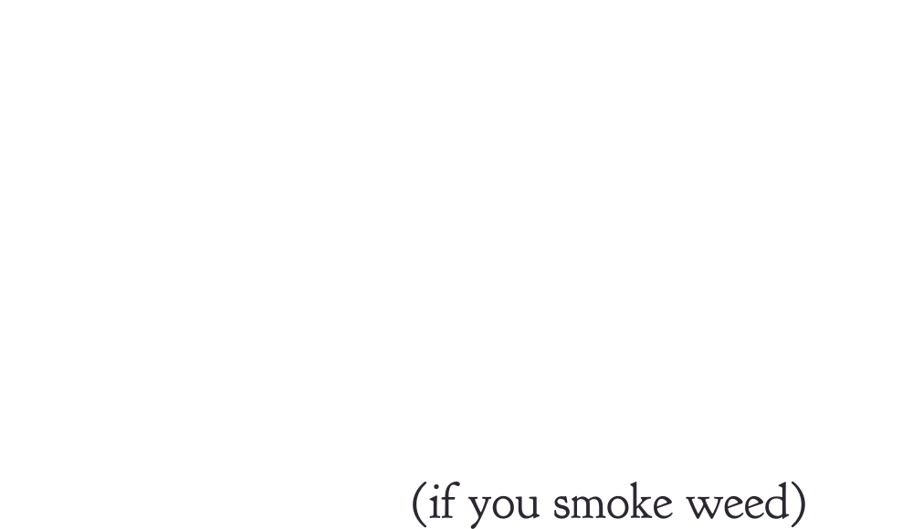 The travel kit you need. If you smoke weed.