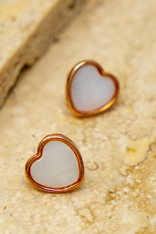 Dainty Heart Earrings