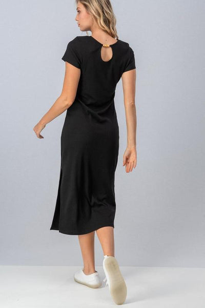 Kahlo Ribbed Midi Dress