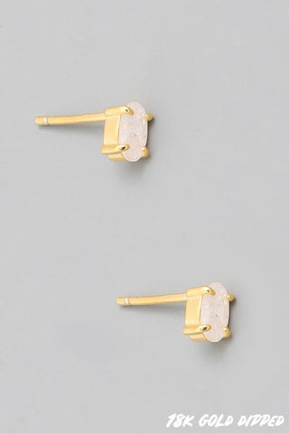 Mini Crystal Stud Earrings
