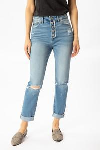 "KanCan Charlotte High Rise ""Mom Jeans"""