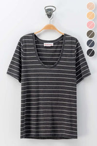 Venture Scoop Neck Tee