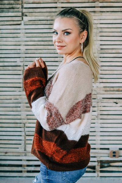 Isabella Sequined Sweater