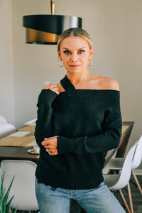 Alexandra Off-The-Shoulder Sweater