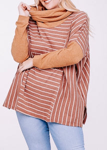 Emilie Cowl Neck Top