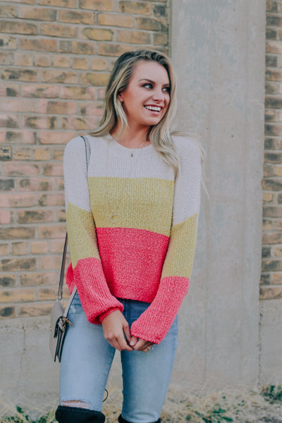 Woven With Wisdom Knit Top