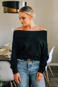 Harper Off-Shoulder Sweater
