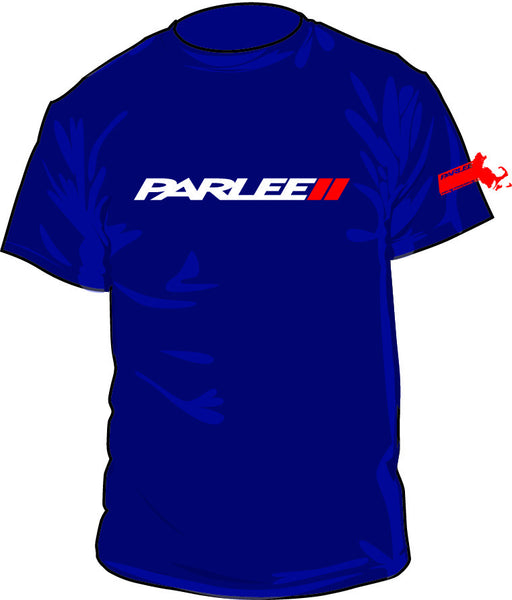 PARLEE Navy T Shirt by American Apparel