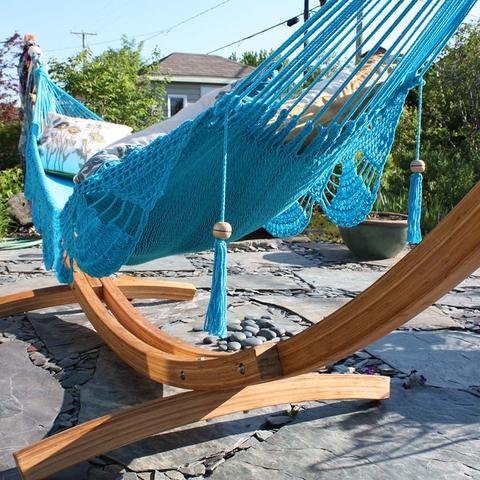HAMMOCK STANDS - BAMBOO