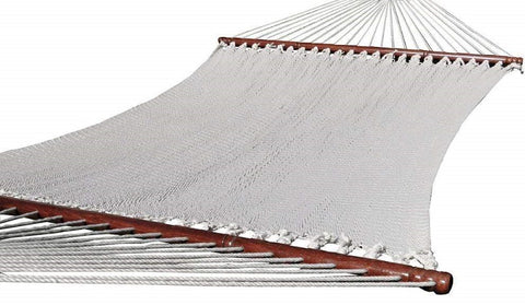 POLYESTER ROPE HAMMOCK - SOFT-WOVEN DELUXE