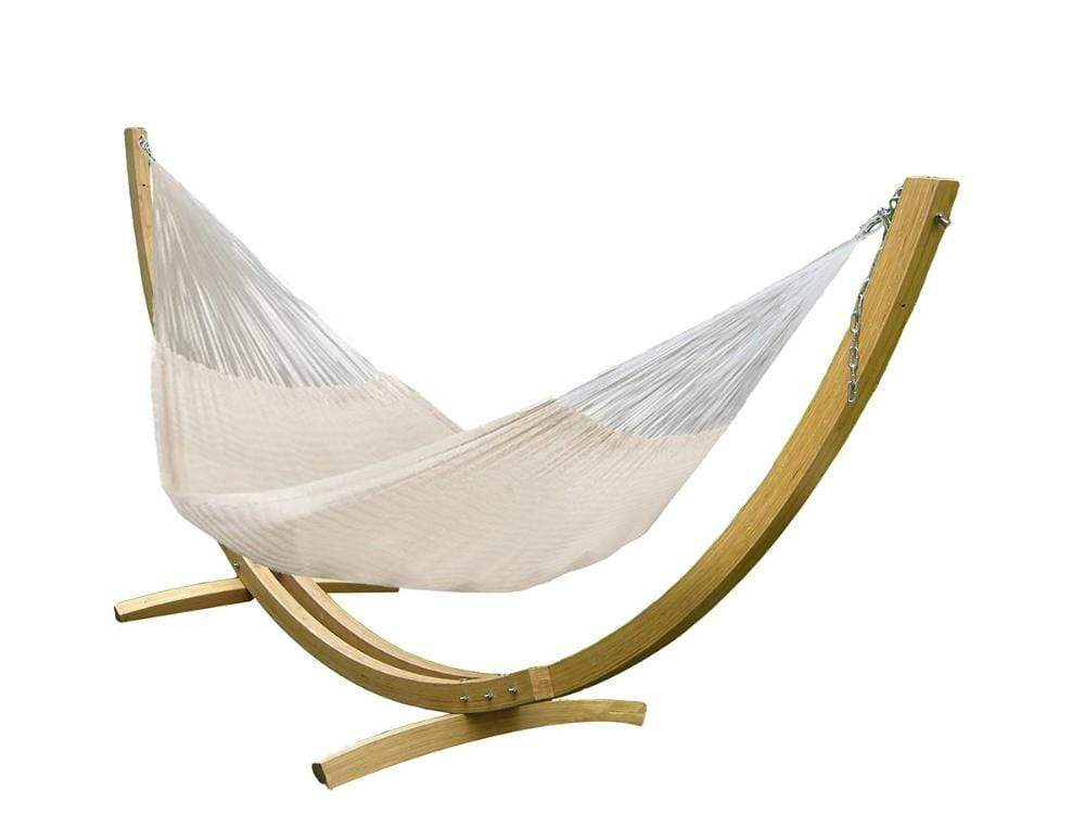 XL THICK CORD MAYAN HAMMOCK WITH BAMBOO STAND