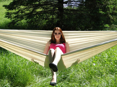 Brazilian Double Hammock Natural