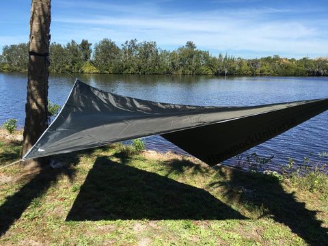 Hammock Rain Fly - 70D Oxford Polyester - RipStop