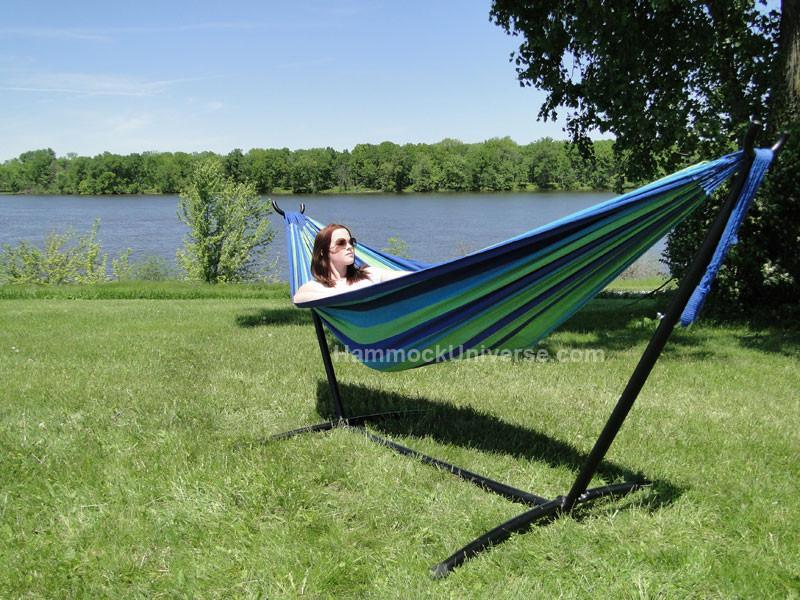 Brazilian Double Hammock With Stand Buy Online Hammock
