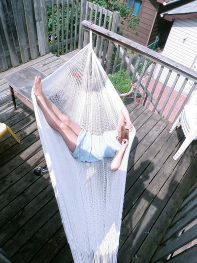 Mayan Hammock - XL Family-sized Thick Cord - Buy Online natural