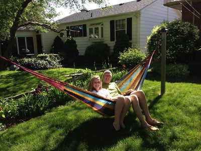 Mayan Hammock - XL Family-sized Thick Cord - Hammock Universe Canada multicolored
