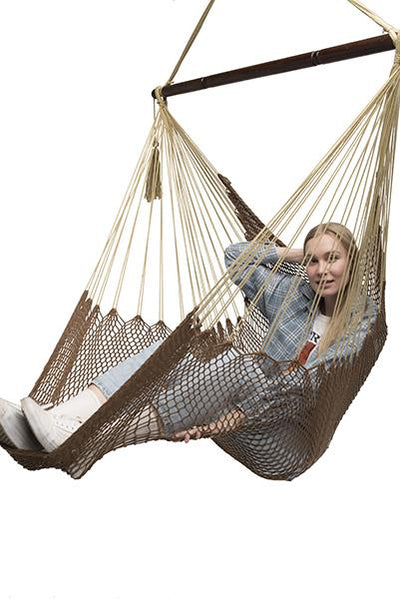 Coffee Mayan Hammock Chair