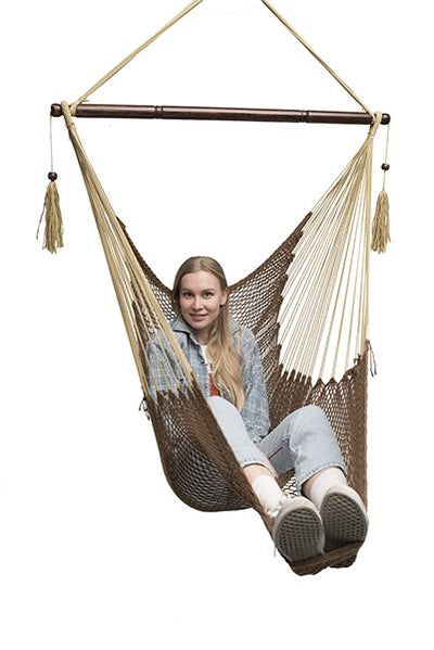 Chocolate Mayan Hammock Chair