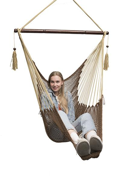 Genial Chocolate Mayan Hammock Chair