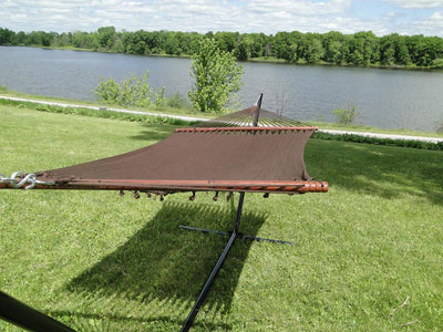Hammock Double Polyester Deluxe +  15FT Stand | Hammock Universe coffee